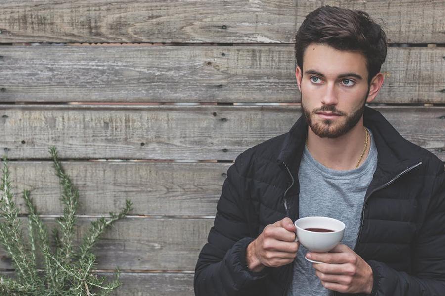 Chronique conseils barbe pour les mariés, brun et café