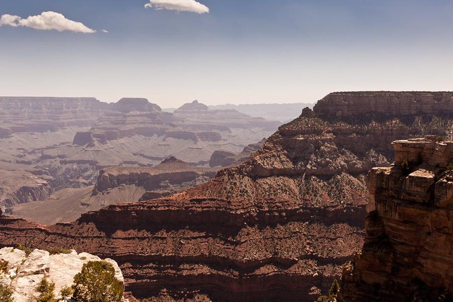 Chronique voyage de noce - paysage du grand canyon