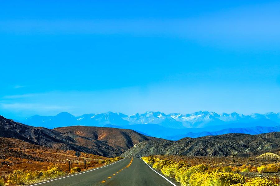 Chronique voyage de noce - paysage montagne et route
