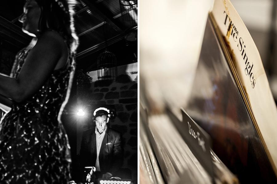 DJ Animation key des artistes bar à vinyles ancien disque