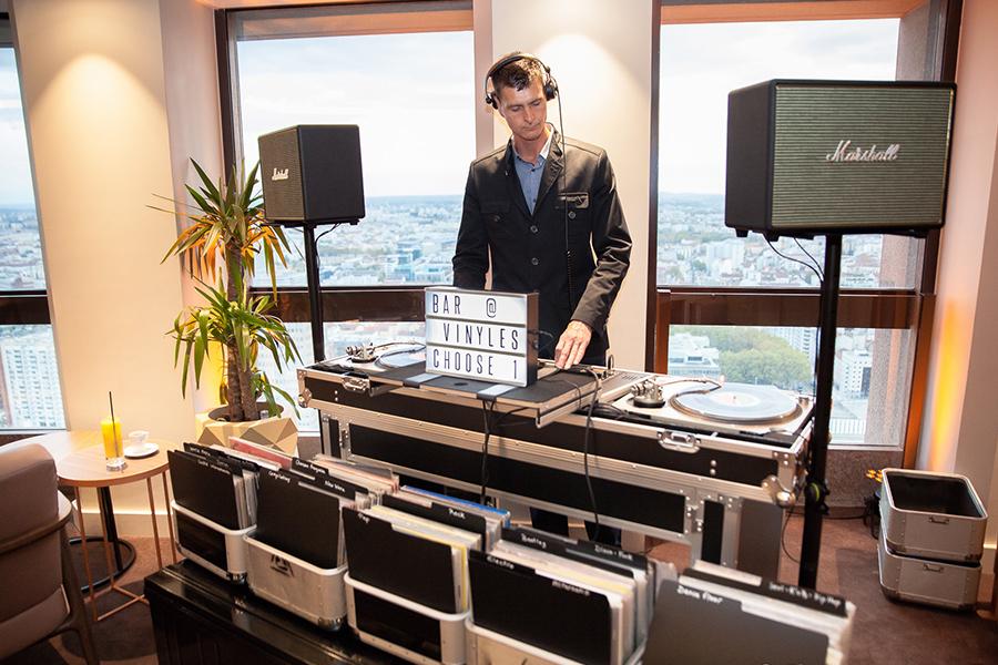 DJ Animation key des artistes bar à vinyles classement platine