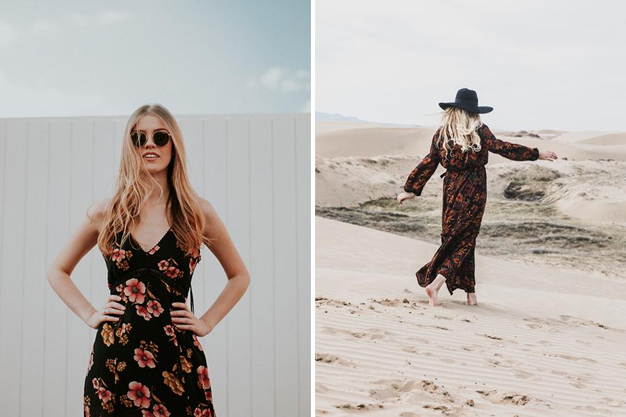 Chronique 8 conseils tenue d'invitée à un mariage lyon robe été fleurie brune et blonde