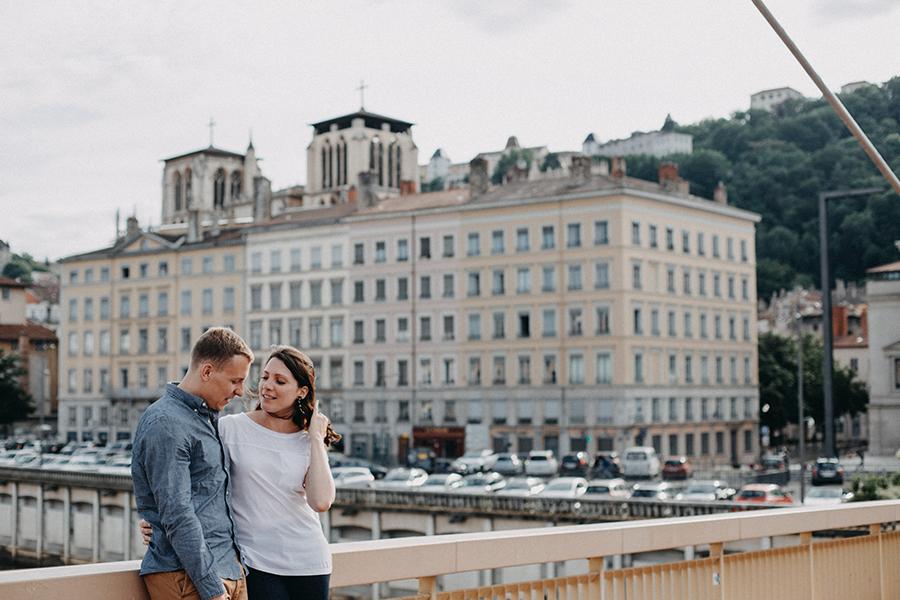 Chronique photographe mariage lyon histoires brutes shooting photo : Pont du Palais de Justice