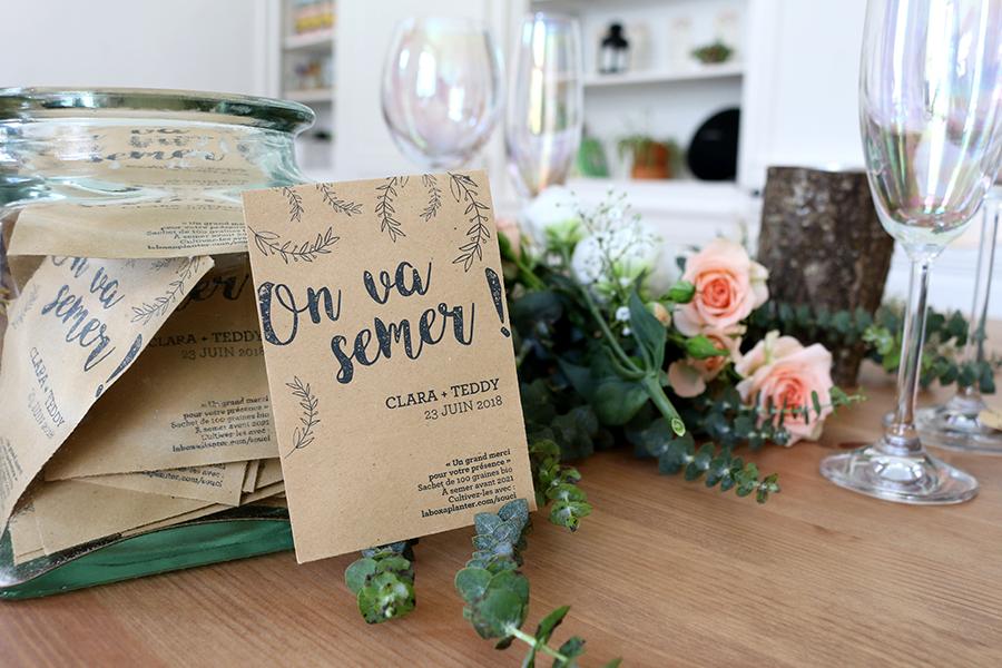 la fabrique à sachets cadeaux d'invités lyon mariage décoration