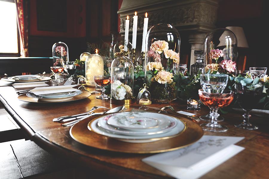 Créatrice de robes de mariée Maryline Garel décoration table